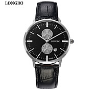 LONGBO Couples Calendar Quartz Watch Fashion Brands Waterproof  Watch Dial Decoration Free Shipping