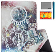 LEXY® Star Campanula Pattern PU Leather Flip Stand Case with Screen Protector and Stylus for iPad Air 2/iPad 6