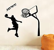 люди / Спорт Наклейки Простые наклейки , PVC 43*72cm