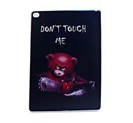 tronçonneuse ours peint TPU tablette boîtier de l'ordinateur pour iPad air2