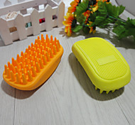 Grooming / Cleaning Baths Pet Grooming Supplies Portable Green / Yellow Rubber