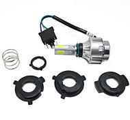 16-36v mini led moto faro 2500lm alta anabbagliante h4 testata anteriore lampada moto luce di azionamento