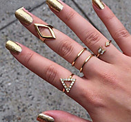 European Style Fashion Metal Wild Personality Ring Set