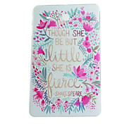 Flower Painted TPU Tablet computer case for Galaxy Tab  E 9.6/Tab A 9.7/Tab 4 10.1