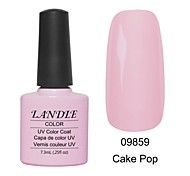 LUNDLE 09859 Soak Off UV Nail Gel Color Gel LED Manicure Gel Cake Pop