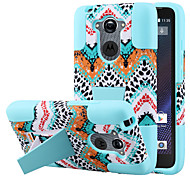 Silicone Gel Rubber Case With PC Stand cover Skin for Motorola Droid Turbo (Assorted Colors)