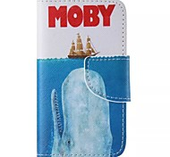 Sailing Painted PU Phone Case for iphone4/4S