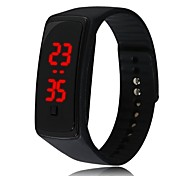 Korean Unisex Fashion Silicone Sport LED Touch-Screen Electronic Watches