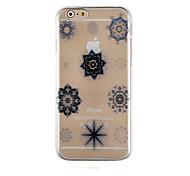 задняя крышка корпуса элегантный дизайн модели прозрачный телефон iphone6 / 6с