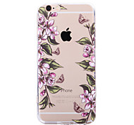 Retro Butterfly Flower Cases for iPhone 6 Plus/iPhone 6S Plus(Assorted Colors)