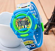 The Boys And Girls Cartoon Animation Students / Children Watch Electronic Watch