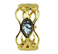 Fashion Women'S Watches Shell Dial Alloy Hollow Bracelet Golden Quartz Hip Hop Watches (Assorted Colors)