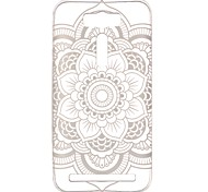 For Asus Case Transparent / Pattern Case Back Cover Case Mandala Soft TPU ASUS