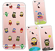 MAYCARI®Various Mr.Minions Soft Transparent TPU Back Case for iPhone 6 Plus/6S Plus(Assorted Colors)