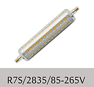 1 pcs R7S 10W 72SMD 2835 1080LM Warm White / Cool White Recessed Retrofit Dimmable Corn Bulbs AC 85-265V