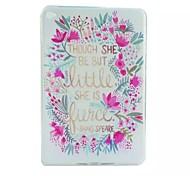 Blume gemalt tpu Tablet-Computer Tasche für iPad mini4