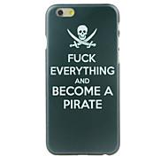 proibição do caso duro padrão de entrada para iphone 6 / 6s
