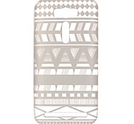 For Asus Case Transparent / Pattern Case Back Cover Case Geometric Pattern Soft TPU ASUS