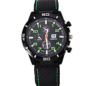 L.WEST Men's The Silicone Belt Quartz Watch Wrist Watch Cool Watch Unique Watch