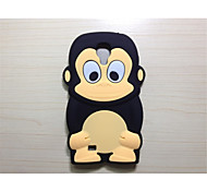 Cute Cartoon Shell Silicone Sets Mobile Phone Protection Shell For Galaxy S4/S3(Assorted Color)