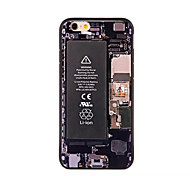 Circuit Board Pattern Acrylic Design Back Cover Case for iPhone6/6S Plus