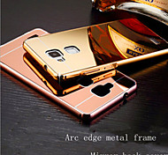 Mirror Metal Frame To Protect The Shell Of The Ultra-Thin Cover Shell For HUAWEI MATE7 Mobile Phone
