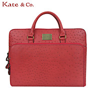 Kate & Co.® Women PVC Laptop Bag White / Pink / Gold / Red - TH-01565