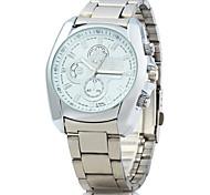 ZHONGYI 809 Men Quartz Watch with Stainless Steel Strap Wrist Watch Cool Watch Unique Watch