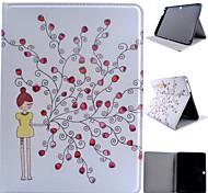 geprägtem PU-Leder für Samsung Galaxy Tab 9.7 / Tab s2 8.0 / Register ein 8.0 / tab 4 10.1 / Tab s2 9,7 / Tab e 9.6