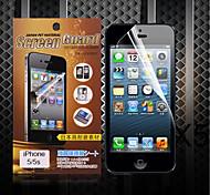 Protector de pantalla mate para iPhone5 / 5s (3 piezas)