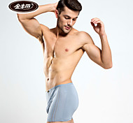 Jinfengtian Men's Bamboo Fiber Boxer Briefs 3/box - 3368