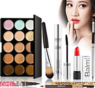 2016 New 7Pcs Luxurious Makeup Sets Make Up Cosmetics Gift Set Tool Kit Best Gift With Makeup Bag