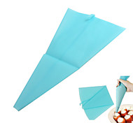The Trumpet Silica Gel Thickened Repeated Use Cake Piping Cream Bag S Size