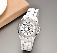Women Watch Round Dial Anolog Wrist Rhinestone Quartz Watches Ladies ROSRA Female Clock 2015 New Russia Cool Watches Unique Watches