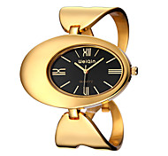 WEIQIN ® Women's Watch Fashion Bracelet Gold Case Alloy Band Dress Watch Quartz Movement for ladies Cool Watches Unique Watches