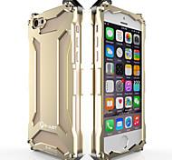 gundam monochromen Farboxidationsaluminiummetallkastenabdeckung für iphone 6s / iphone 6