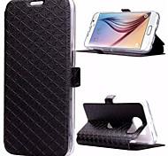 Mobile Samsung - Couleur unie/Design Spécial - Etuis du corps entier/Etui avec support - pour Samsung Samsung Galaxy S6 (
