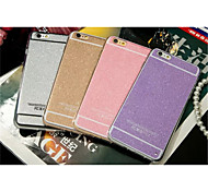 Hot Sale Shinning Sparkling Girl's Soft Gel TPU Case Cover For iphone 6/6S (Assorted Colors)