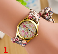 Woman Calico Wrist  Watch
