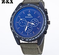Men's Fashion Personality Textile Quartz Analog Sport Watch(Assorted Colors) Cool Watch Unique Watch