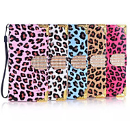 Fashion Leopard Grain Design PU Case for Galaxy S3 S4 S5 S6 S6 Edge(Assorted Color)