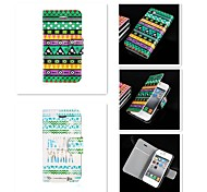 Elegant Design Pattern PU Leather Full Body Case for iPhone 4/4S