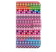 The Geometry Pattern PU Leather Full Body Case for iPhone 4/4S