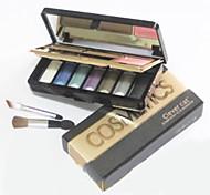 7 Lidschattenpalette Trocken Lidschatten-Palette Puder Normal Alltag Make-up