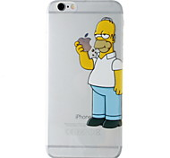 """New Fashion 3D Cartoon Case TPU Back Cover for iPhone 6/6S 4.7"""""""