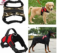 FUN OF PETS® Big Dog Soft Adjustable Harness Pet Large Dog Walk Out Harness Vest Collar Hand Strap for Dogs