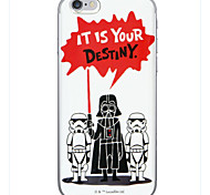 It's your destiny Pattern TPU Soft Cover Case for iPhone 6/6s
