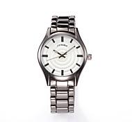 montres femmes SINOBI multifonction montres bande de quartz en acier noir cadran rond quartz-montre