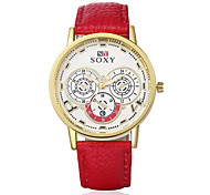 Business Women'S Fashion Classical Characteristic High Quality Watch Wrist Watch Leather Watch Unique Women'S Watches