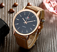 SOXY® Hot Sale High Quality Watch Brown Leather Strap Of Rome Grind Arenaceous Quartz Watch